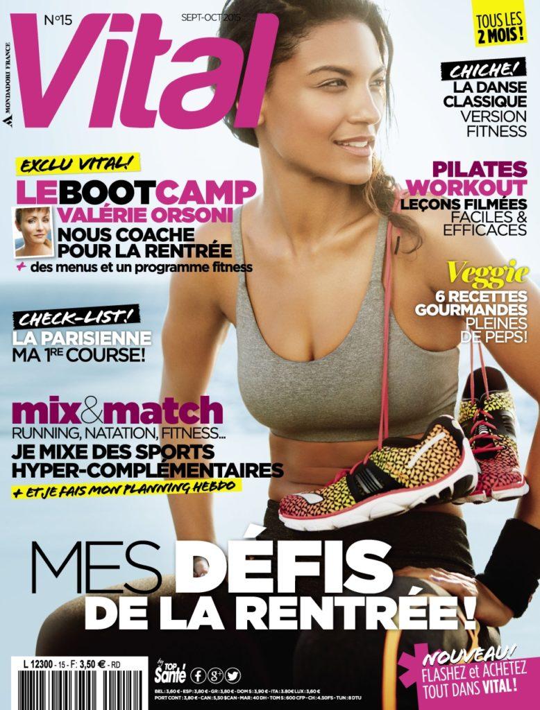 Publication dans le magazine Vital